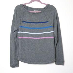 Lou & Grey   Banded Pullover Sweat Shirt